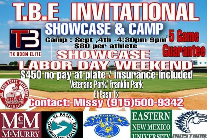 TBE Showcase and Camp